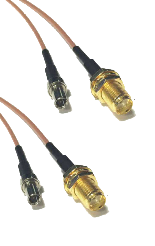 2 X TS9 patch cables